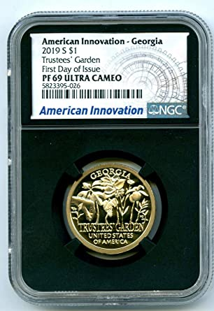 American Innovation Dollar GEORGIA 1 Coin 2019 D - BU GA
