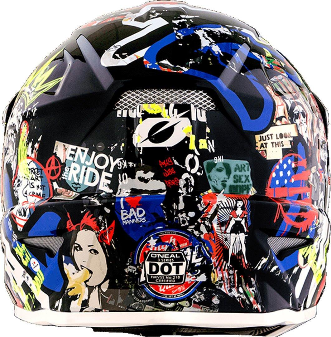 Amazon.com: ONeal 3 SRS Mens Off-Road Rancid Helmet (Multicolored, Medium): Automotive