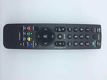 Mudder Mando a distancia de repuesto para televisión LCD LG ...