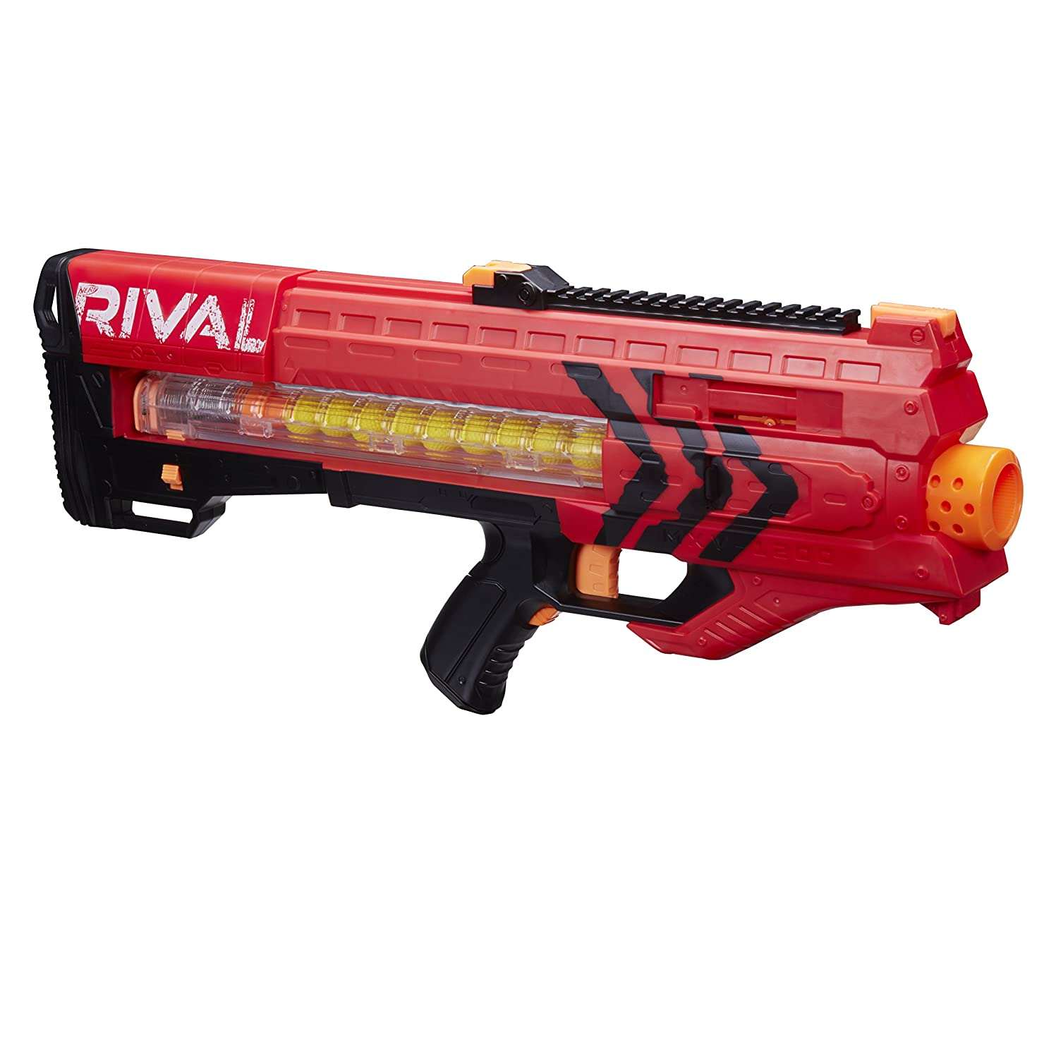 Nerf Rival Zeus MXV-1200 Blaster, Red, Blasters & Foam Play - Amazon ...