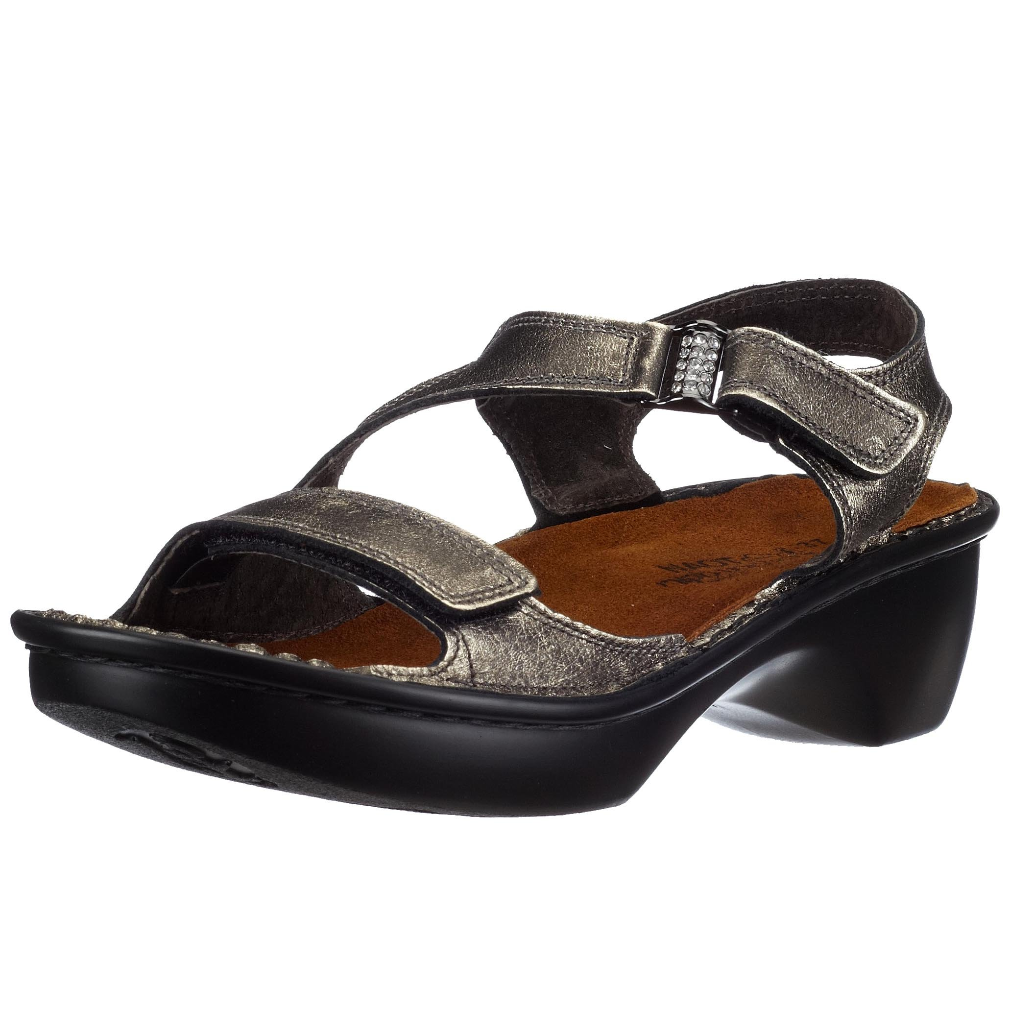 Naot Women's Faso Sandals,Metal Leather,40 M EU