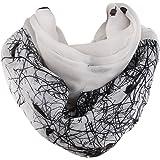 SOJOS Womens Fashion Pattern Premium Soft Lightweight Loop Infinity Scarf SC311