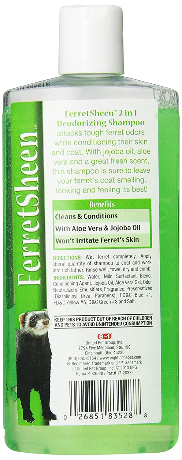 Amazon 8 in 1 ferretsheen 2 in 1 deodorizing shampoo 10 ounce amazon 8 in 1 ferretsheen 2 in 1 deodorizing shampoo 10 ounce magicingreecefo Image collections