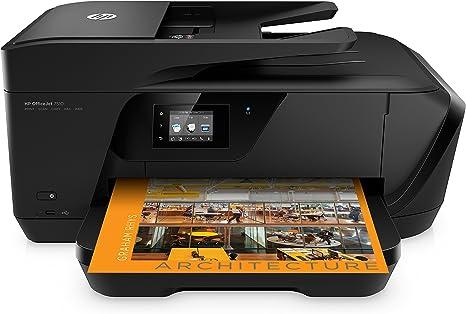 HP OfficeJet 7510 - Impresora multifunción, color negro: Hp ...