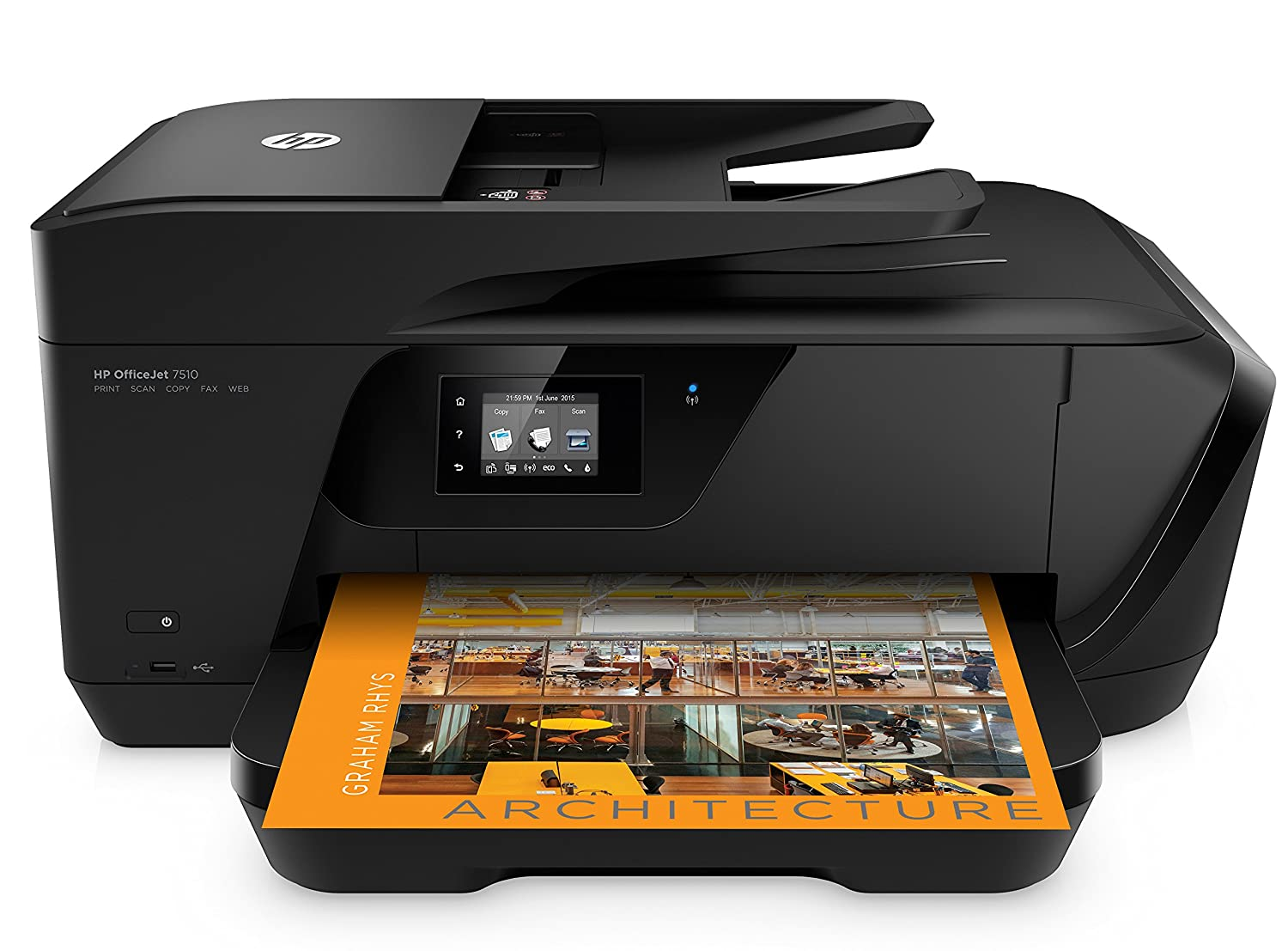 HP Officejet 7612 Stampante e-All-In-One, per Grandi Formati, Nero G1X85A 7612a A3 Stampanti
