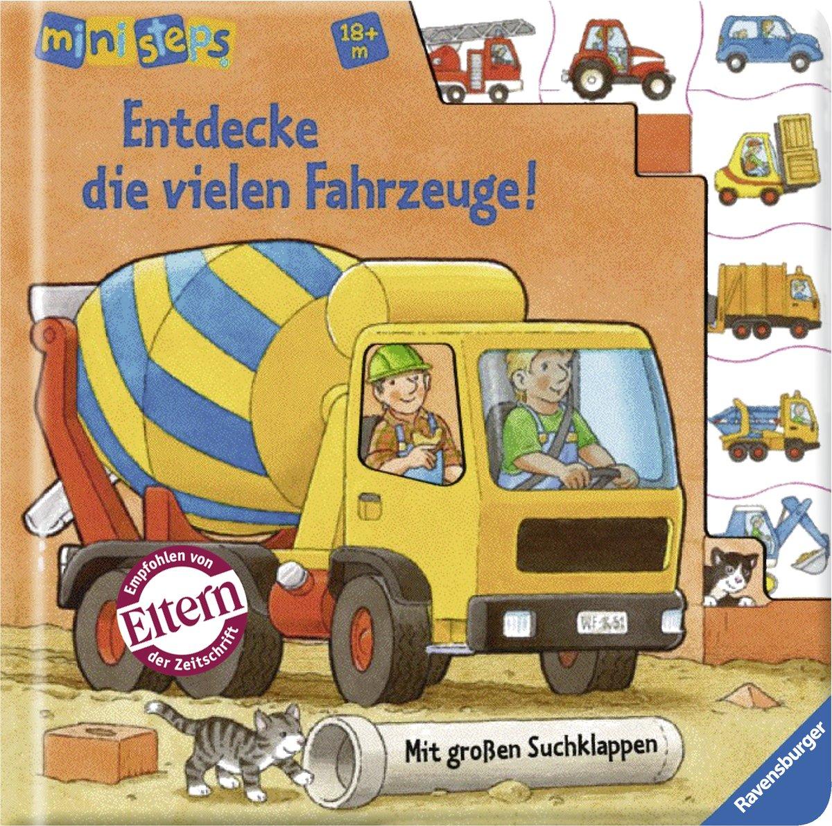 Entdecke die vielen Fahrzeuge!: Ab 18 Monaten (ministeps Bücher)