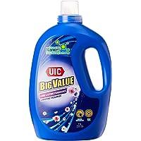 UIC Big Value UIC Laundry Liquid Detergent (Floral Essence), 4KG