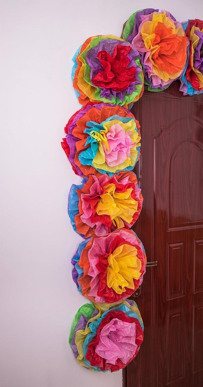 Amazon Cinco De Mayo Decorations Fiesta Tissue Pom Paper