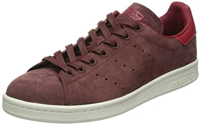 adidas Originals Men s Stan Smith Fox Brown and White Suede Sneakers ... 2888cca5a1