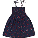 Baby Toddler Girl Summer Outfits Strap Dress Sleeveless Sundress Casual Sling Clothes Kids Clothing Set Beachwear