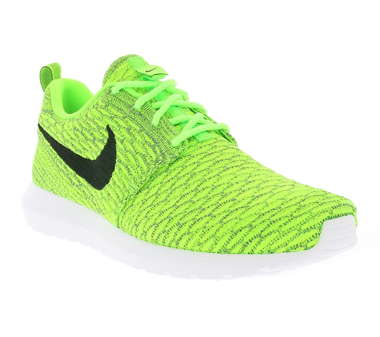 newest ea814 f08a6 Nike Herren Roshe NM Flyknit 677243-700 Sneaker, Mehrfarbig (Celadon 001),  44.5 EU: Amazon.de: Schuhe & Handtaschen