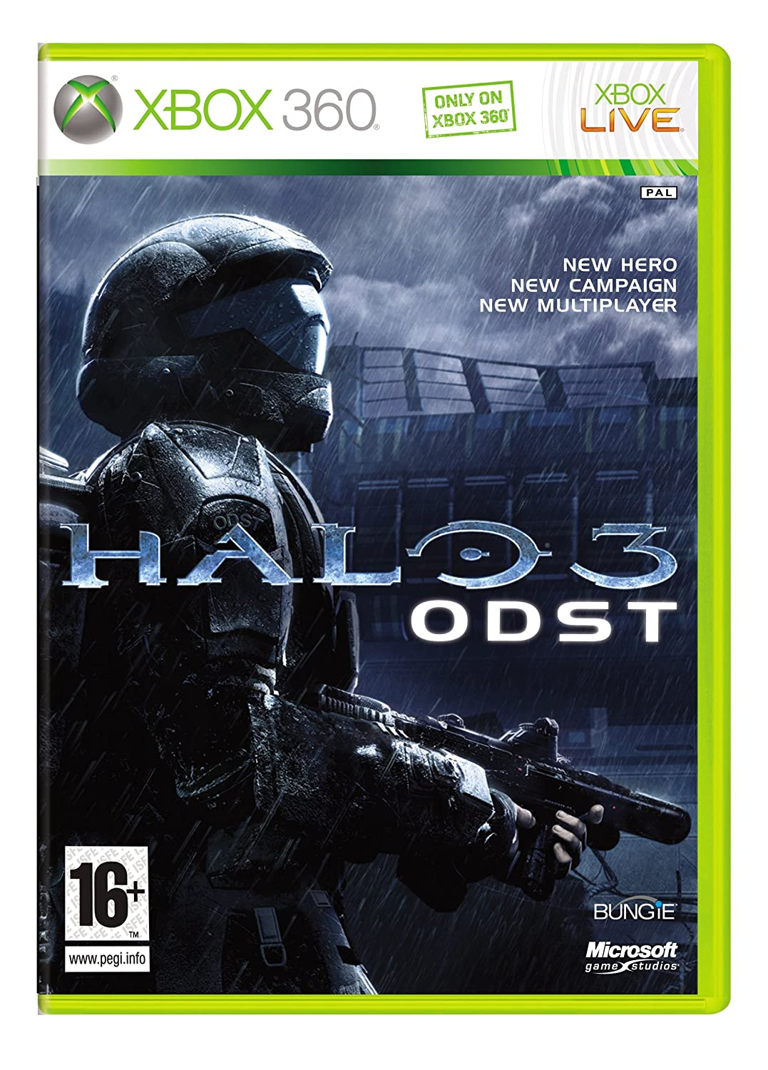 Halo 3: ODST (Xbox 360): Amazon co uk: PC & Video Games