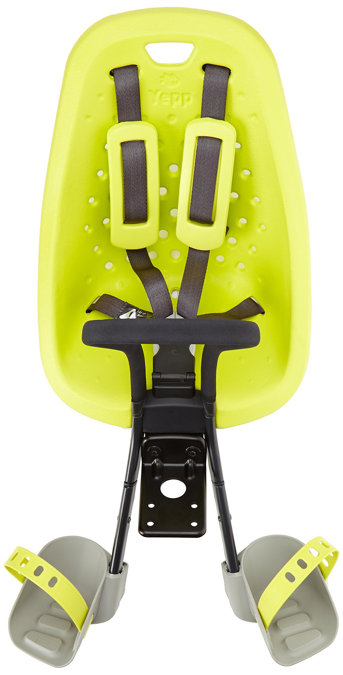 Yepp Mini Bicycle Front Child Seat Lime Green Threadless Urban Commuter
