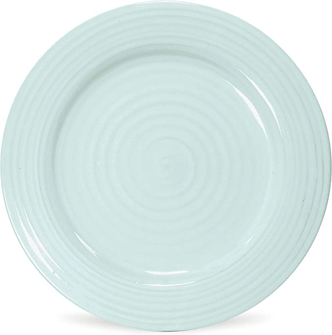 Portmeirion Sophie Conran White Luncheon Plate Set of 4 Portmeirion USA 487666