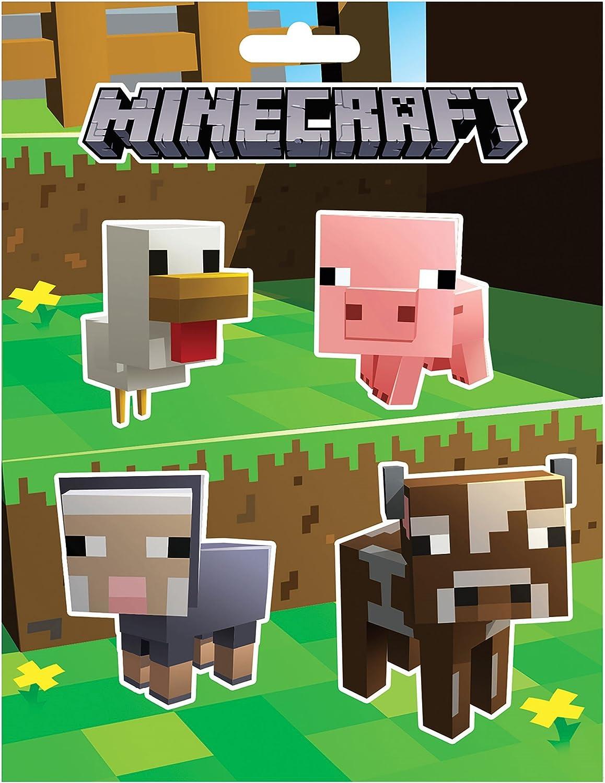 JINX Minecraft - Juego de Pegatinas JNX4036: Amazon.es: Juguetes y juegos