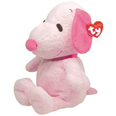Ty Pluffies Snoopy - All Pink: Toys & Games