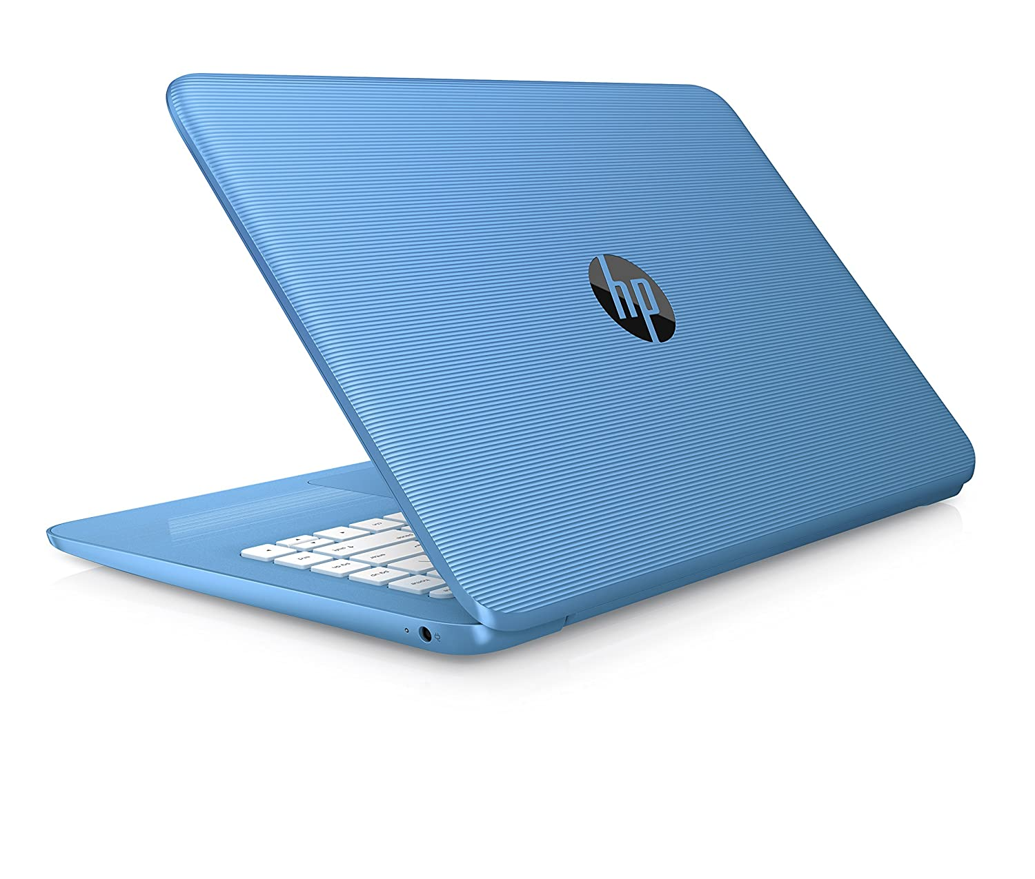HP Stream 14-ax000na 14-inch HD Laptop (Aqua Blue) – (Intel Celeron N3060, 4GB RAM, 32GB eMMC, 1TB OneDrive and Office 365, 1 Year Subscription Included, Intel HD Graphics, Windows 10)