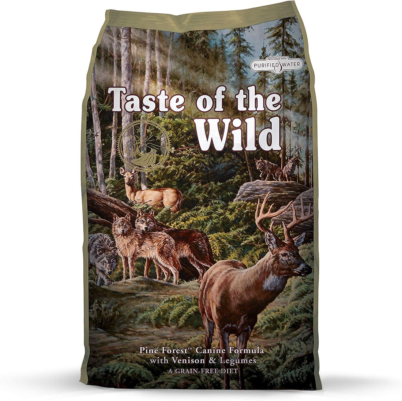 Taste of the Wild Canine Pine Forest Venado - 13000 gr: Amazon.es ...
