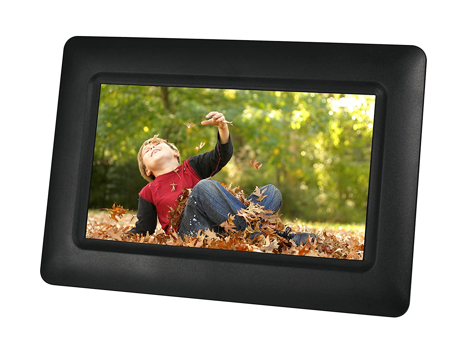 Sylvania SDPF7977 7-Inch Stainless Steel Digital Photo Frame Stainless Steel