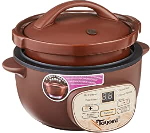 Toyomi SC 1235 Micro-Com Slow Cooker, 1.2L Purple