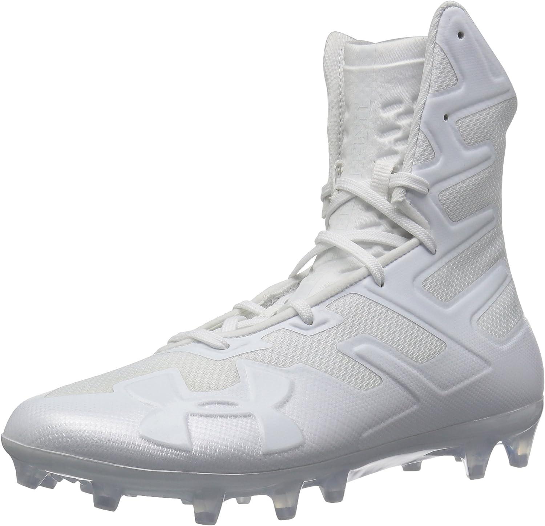 Under Armour Men's Highlight MC Football Shoe, (100)/白い, 9