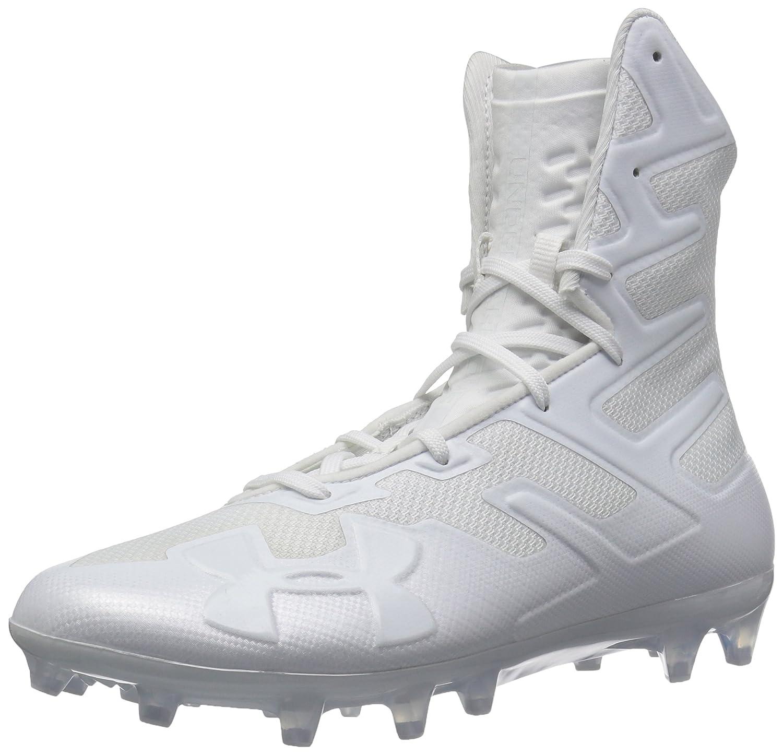 Under Armour Men's Highlight MC Football Shoe B077VQZ5CH 10 D(M) US|White (100)/White