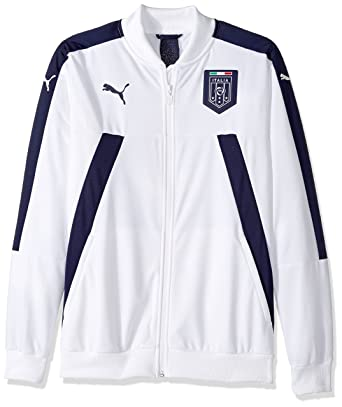 0d8d51caec66 PUMA Men s FIGC Italia Stadium Track Jacket at Amazon Men s Clothing ...