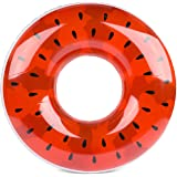 Giant Inflatable Watermelon Pool Floats for Adults and Kids - 42-inch - Extra Durable Pool Float