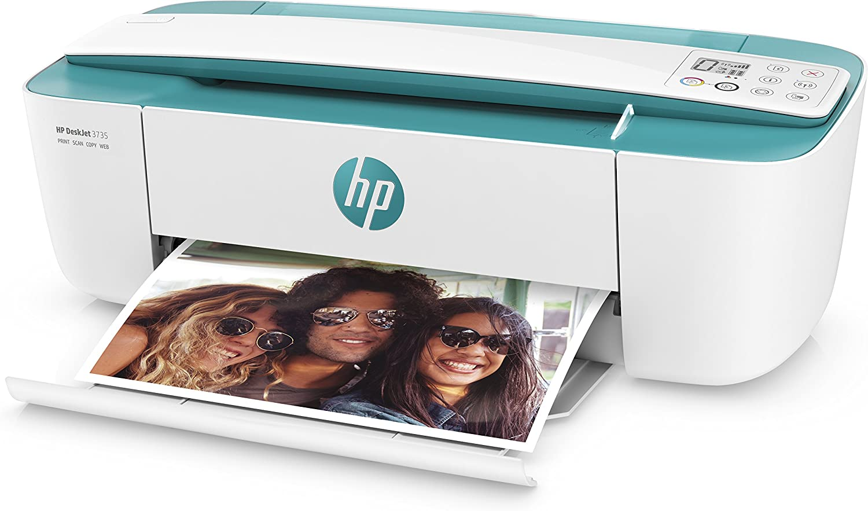 HP Deskjet 3735 – Impresora multifunción inalámbrica (Tinta, Wi-Fi ...