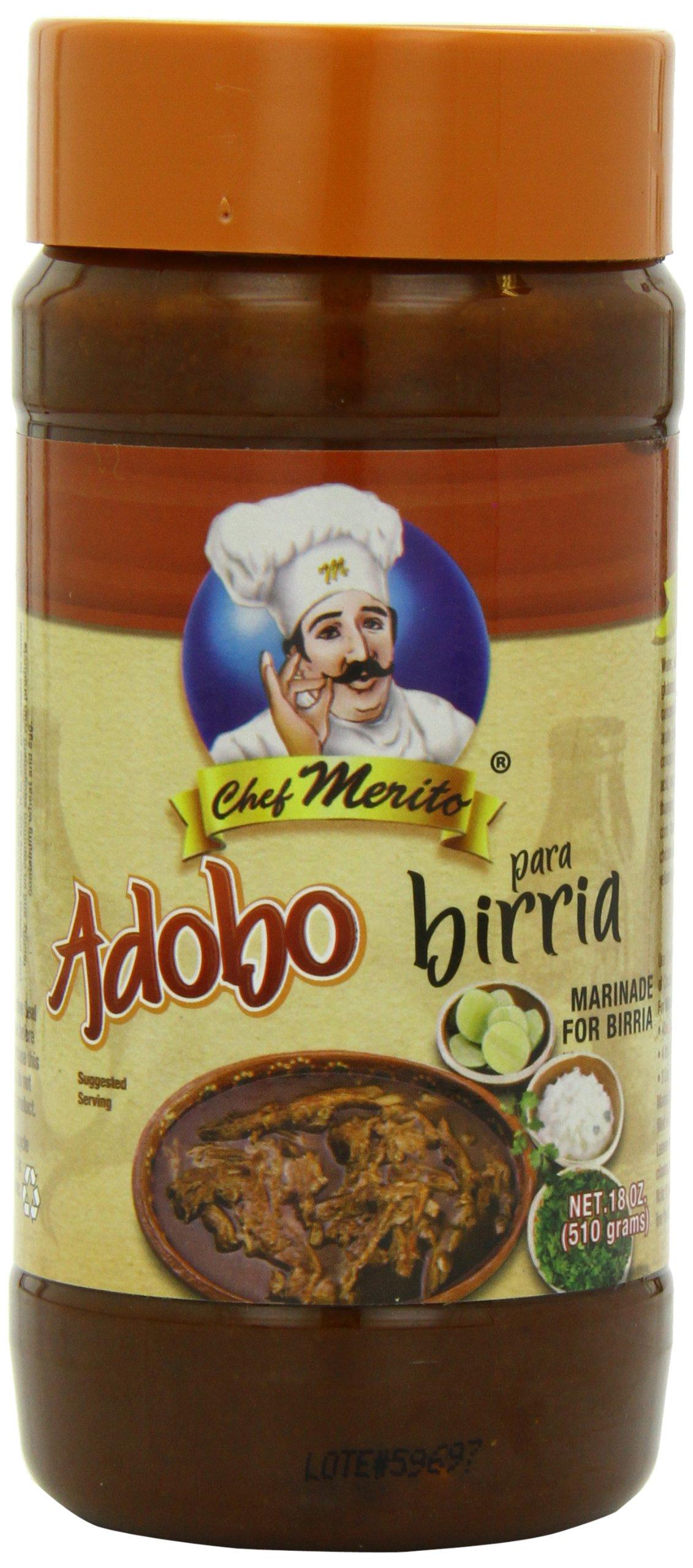 Chef Merito Adobo Birria, 18.0 Ounce