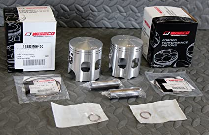 Amazon com: 2 x Wiseco ULTRA STROKER pistons Yamaha Banshee 4mm long