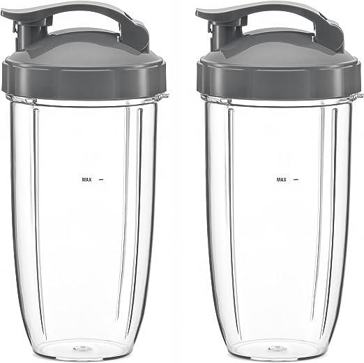 Preferido partes enorme taza de vasos con tapa y parte superior ...