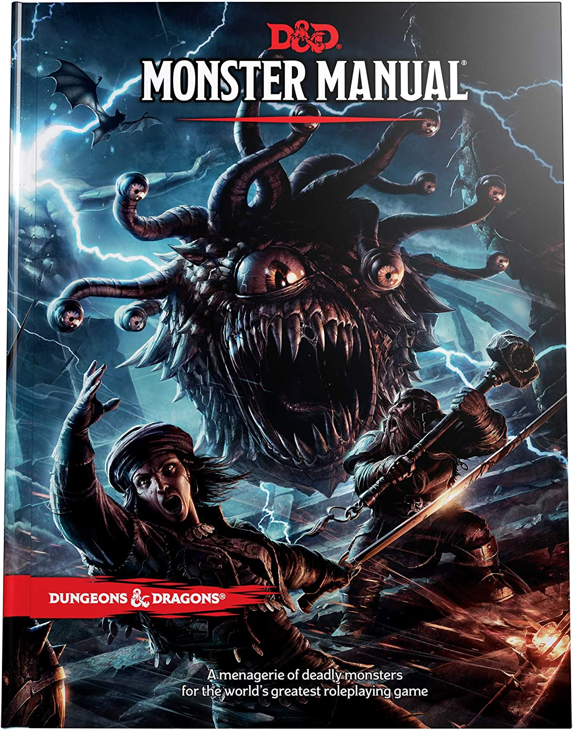 Dungeons & Dragons Core Rulebook: Monster Manual, WTCA92180000, standard:  Wizards of the Coast, Wizards of the Coast: Amazon.co.uk: Toys & Games
