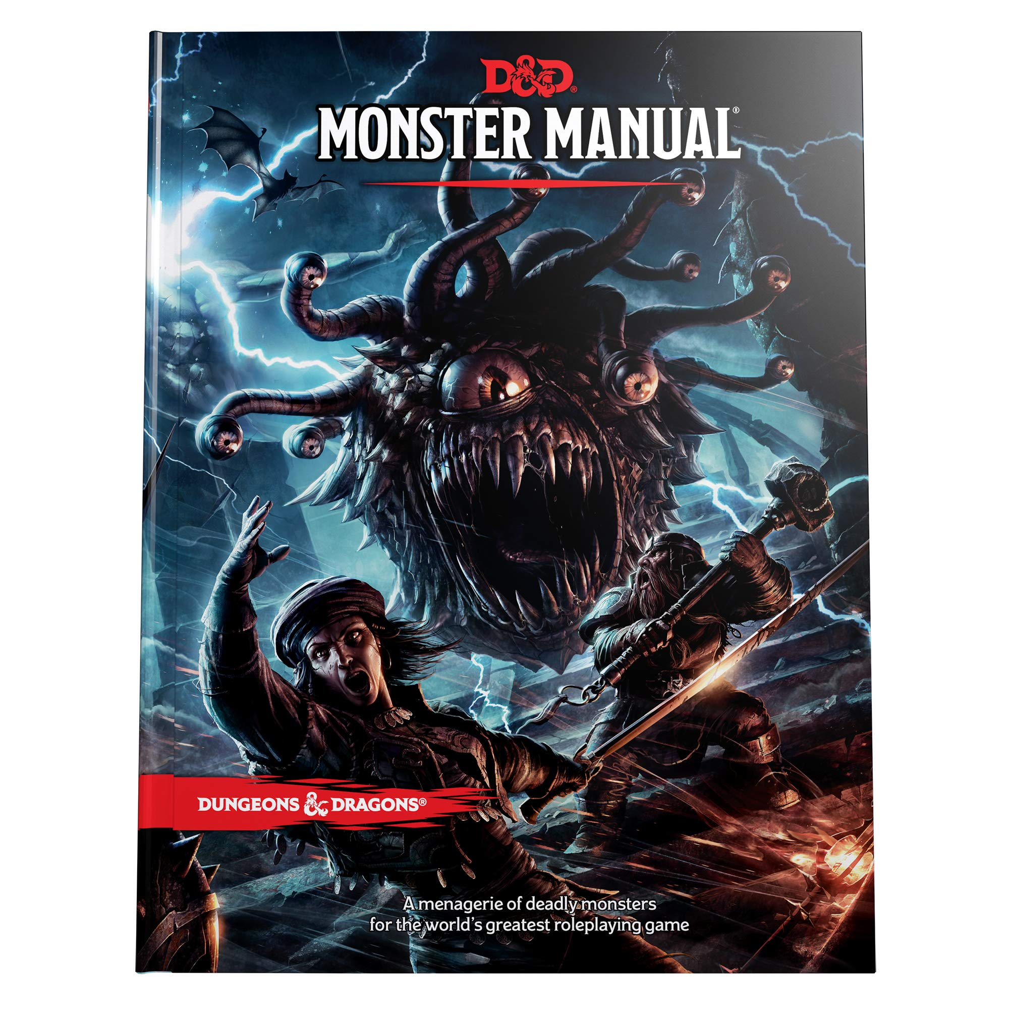 Dungeons & Dragons Monster Manual (Core Rulebook, D&D Roleplaying Game) by Dungeons and Dragons