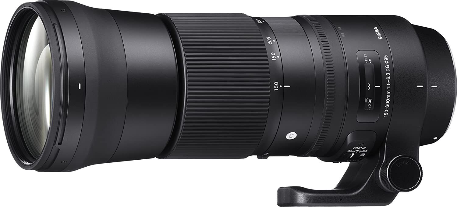 Sigma 150-600 Mm F/5-6.3 DG OS HSM Contemporary Lens For Canon Cameras