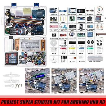 Unicorpse Project Super Starter Kit para Arduino UNO R3 Mega2560 ...