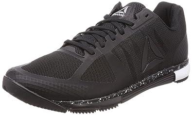 be1e6d0a2c8 Reebok Men s Speed Tr Black White Multisport Training Shoes - 8 UK India (