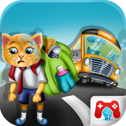 Baby Kitty School Trip Fun for $<!--$0.00-->
