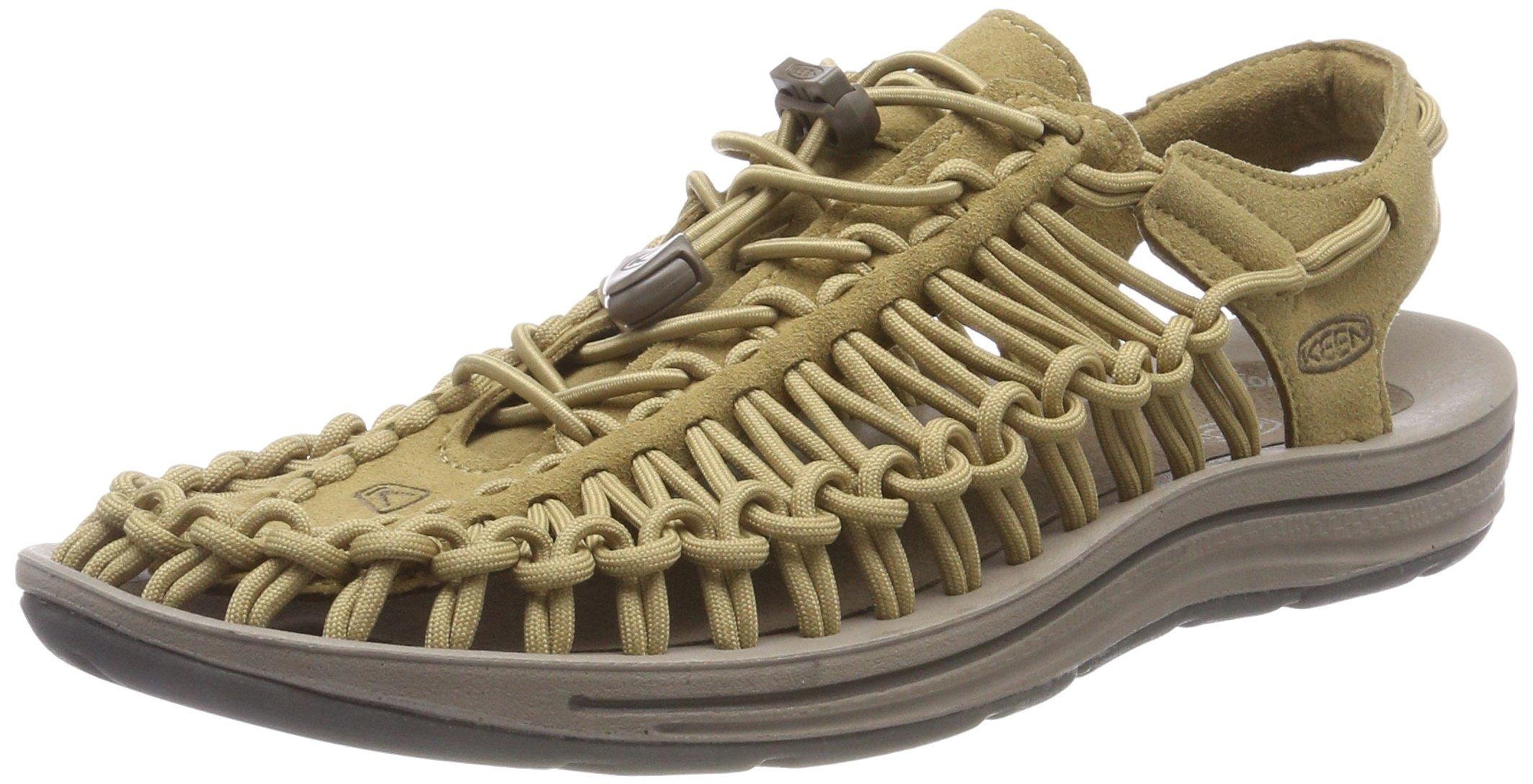 Keen Men's Uneek-M Sandal, Antique Bronze/Canteen, 12 M US