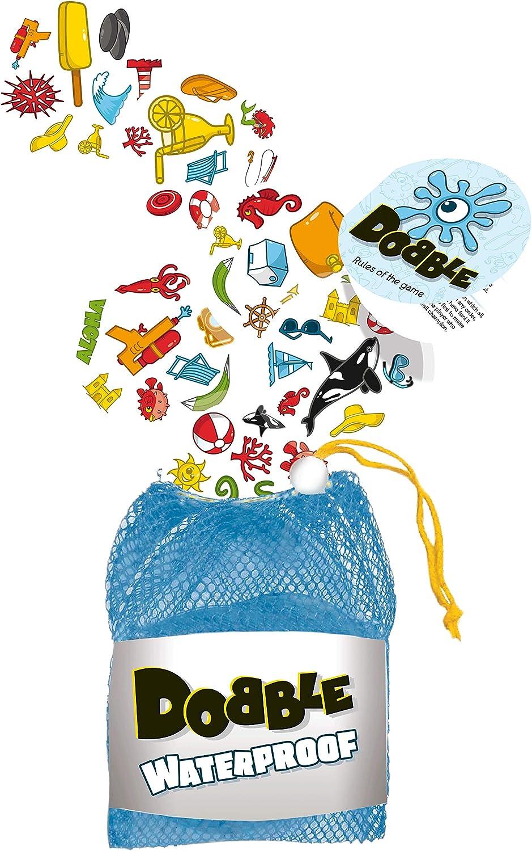 Asmodee Dobble Waterproof - Juego de cartas resistente al agua ...