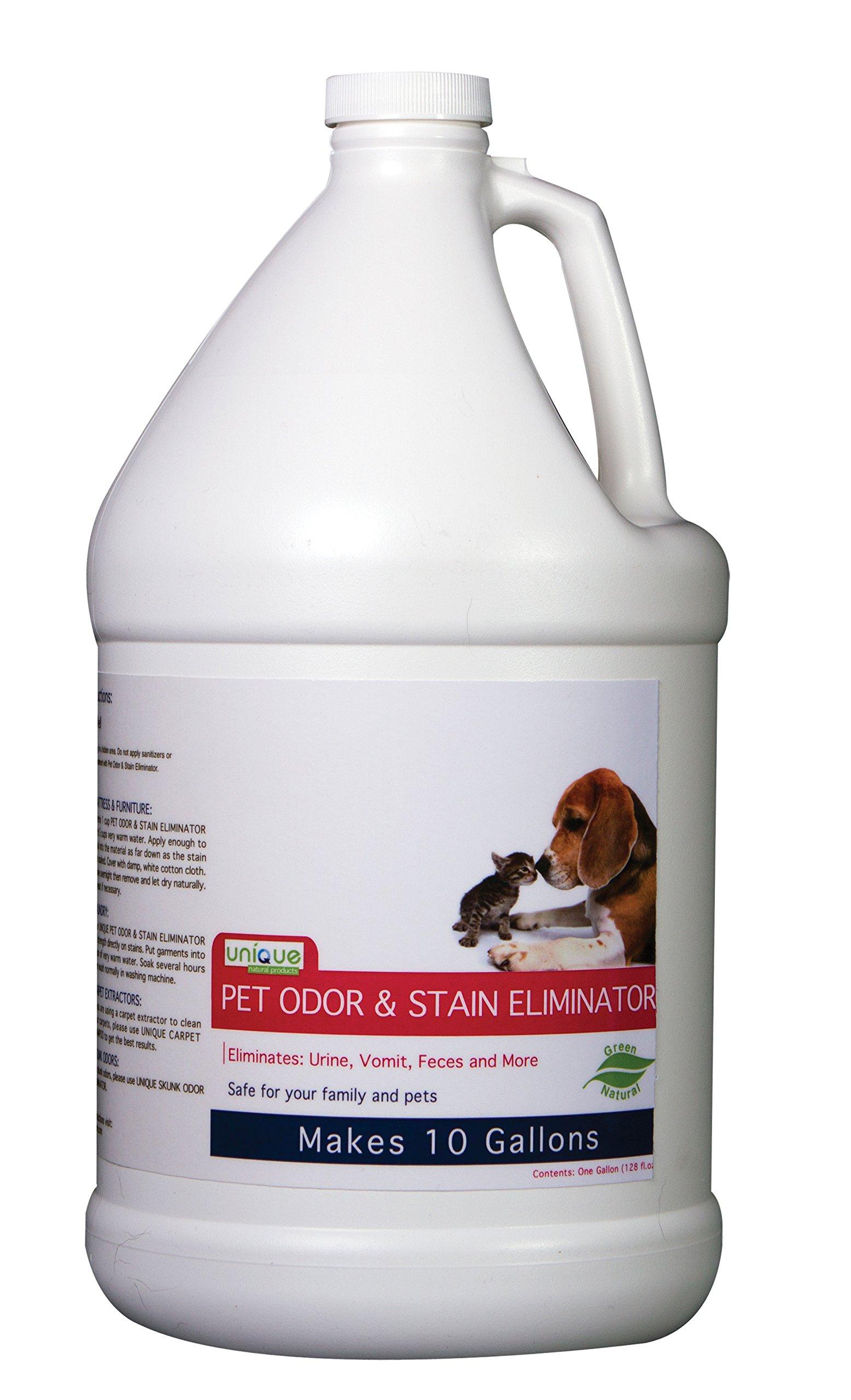 Unique 205-1 Pet Odor and Stain Eliminator - Gallon by Unique
