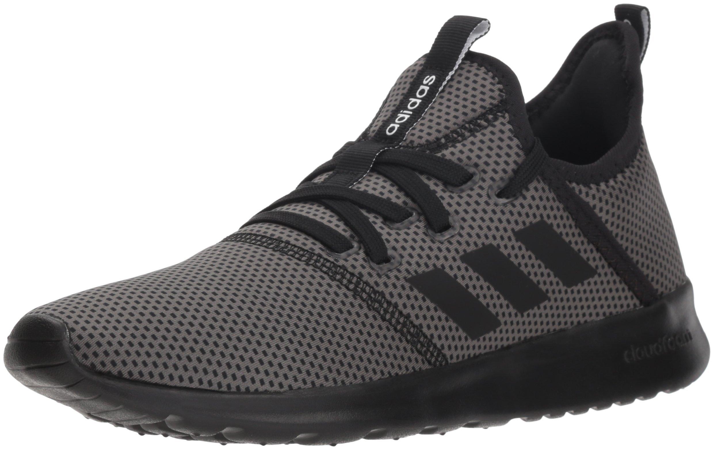 adidas Performance Women's Cloudfoam Pure Running Shoe, Black/Black/Grey, 5 M US