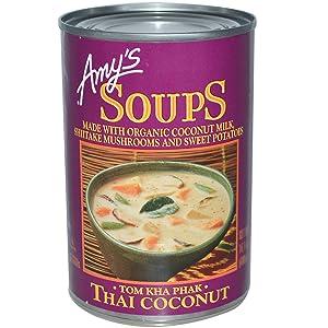 Amy's Organic Thai Coconut Soup