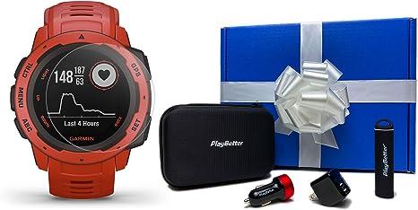 Amazon.com: Garmin Instinct - Reloj GPS para exteriores con ...