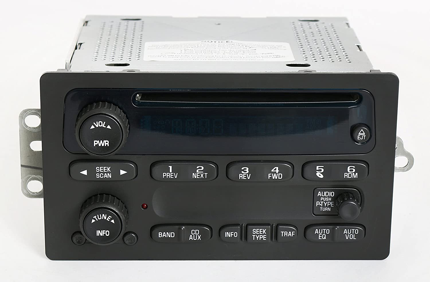 81o70jBZNrL._SL1500_ amazon com chevy gmc 2003 2005 truck factory oem radio am fm cd  at bayanpartner.co