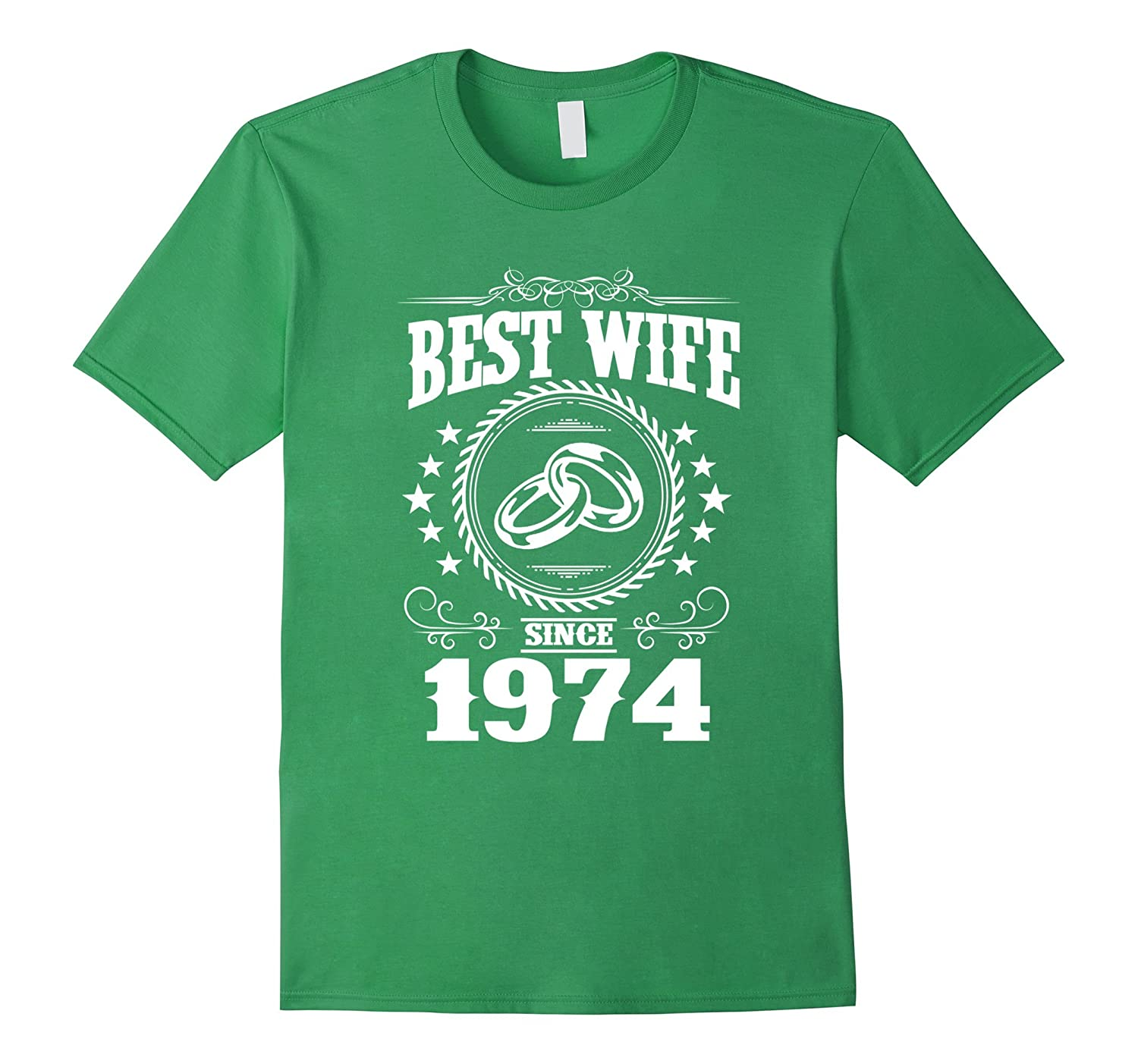 43rd Wedding Anniversary Gifts: 43rd Wedding Anniversary T-Shirts For Wife From Husband-PL