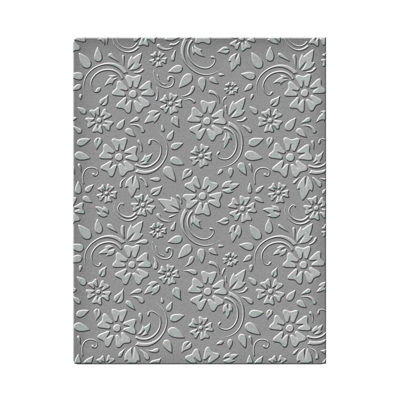 Spellbinders SES-008 Flowers & Leaves Embossing Folder