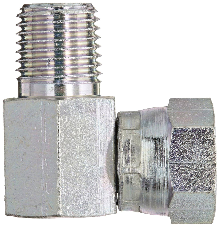 Swivel 3//4 NPSM Female x 3//4 NPT Male 90 Degree Elbow Eaton Weatherhead 9405X12X12 Carbon Steel Fitting
