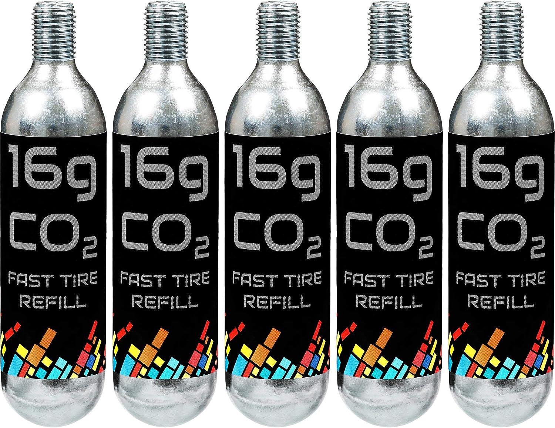 Gorilla Force Cartuchos de CO2, 16 g, 16 g, Cartucho C02 para ...