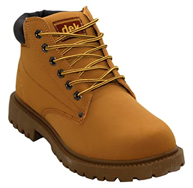 c8216451278735 A&H Footwear Mens Gents Casual Lace Up Winter Warm Combat Hiking Work High  Top Padded Collar Ankle Boots Shoes Sizes UK 6-12: Amazon.co.uk: Shoes &  Bags